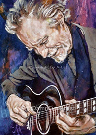 J D Souther limited edition fine art print featuring Souther