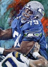 Jacob Green autographed limited edition fine art print signed by Green