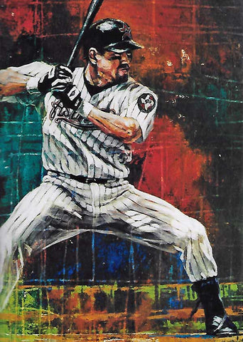 (Jeff) Bagwell at Bat fine art print