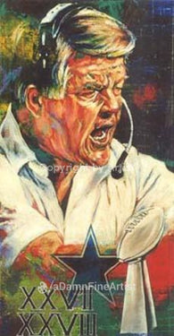 Jimmy Johnson autographed limited edition print