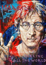 John Lennon Imagine fine art print
