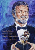 Larry Henley Autographed Limited Edition Fine Art Featuring Music Art