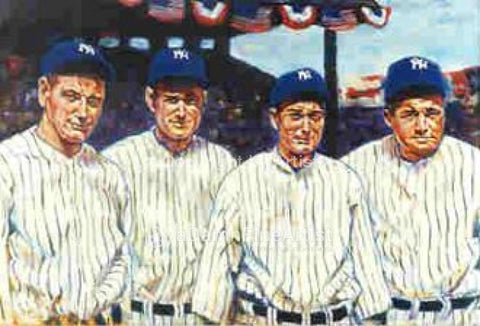Murderer's Row - Yankees fine art print
