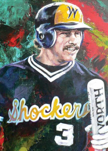 Phil Stephenson - Wichita State autographed limited edition print