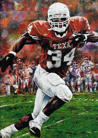 Ricky Steppin' (Ricky Williams) fine art print