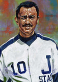 "Robert ""Bob"" Braddy - Jackson State University autographed fine art print signed by Braddy"