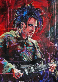 Robert Smith The Cure fine art print