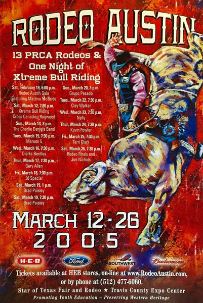 Rodeo Austin 2005 poster