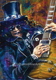 Slash fine art print