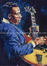 T-Bone Walker Limited Edition Fine Art Print Featuring Music Art
