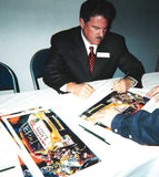 Terry Labonte autographed limited edition print