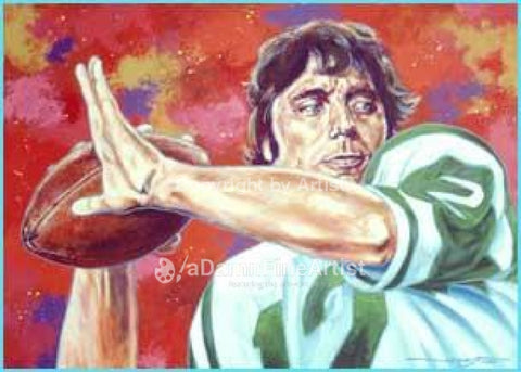 The Guarantee (Joe Namath) print