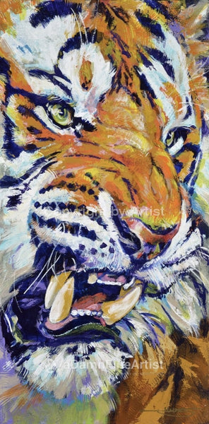 Tiger Limited Edition Canvas Giclee Print Canvas