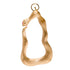 Fierce One-Sided Snake Vermeil Gold Statement Earring
