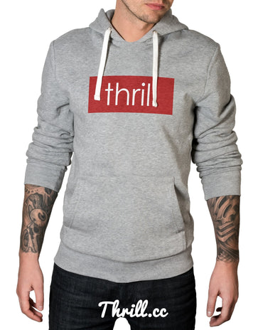 S / Grey Thrill two Hood - Thrill Clothing