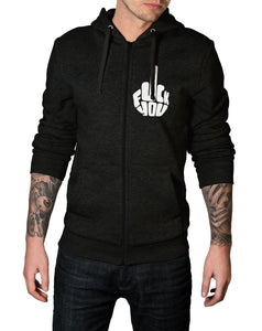 Pluck You Zip-Up Hoodie - Thrill Clothing