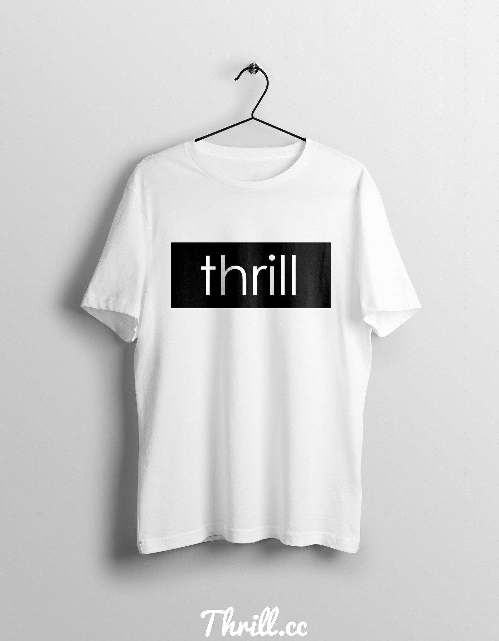 S / White Thrill Two - Thrill Clothing
