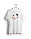 S / White Joker Laugh - Thrill Clothing