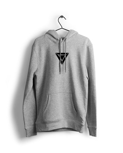 S / Grey Ironman Hood - Thrill Clothing