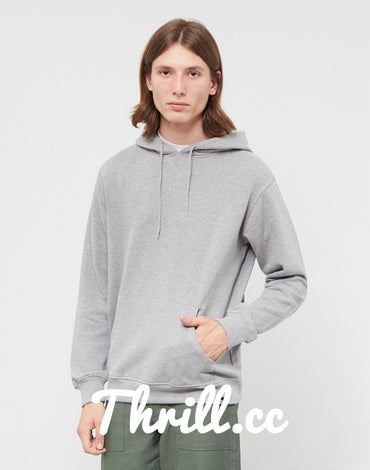 Super Grey Hoodie - Thrill Clothing