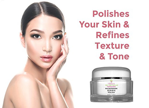 MICRODERMABRASION POLISH ADVANCED EXFOLIATING CREAM DIY peel acne pimples renew repair