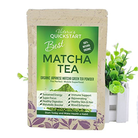 Victoria's Best Organic Japanese Matcha Green Tea