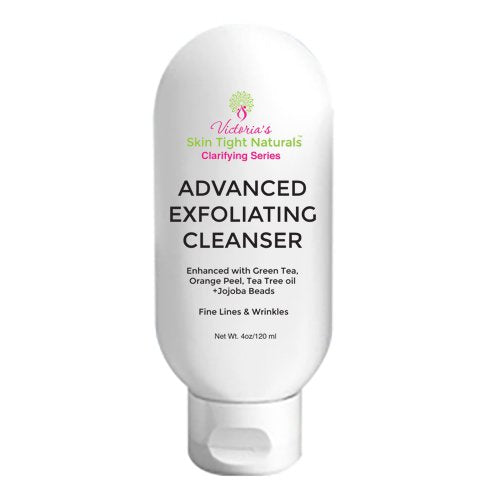 Glycolic Exfoliating Cleanser For Acne Breakouts Wrinkles and Anti-Aging