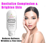 Glycolic  Exfoliating Cleanser For Acne Pimples Breakouts Wrinkles and Anti-Aging