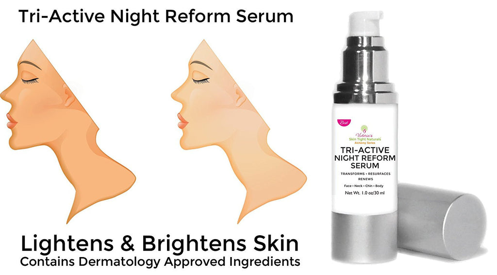 lighten and brighen dark spots Glycolic Acid Multi-Action Peptides  Pure Hyaluronic Acid Serum