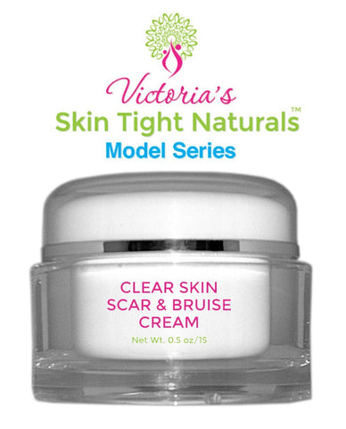 Clear Skin Scar and Bruise Cream Model Series