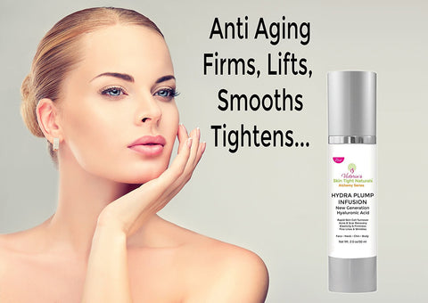 anti aging pure hyaluronic acid Improves Elasticity Firmness and tightens skin