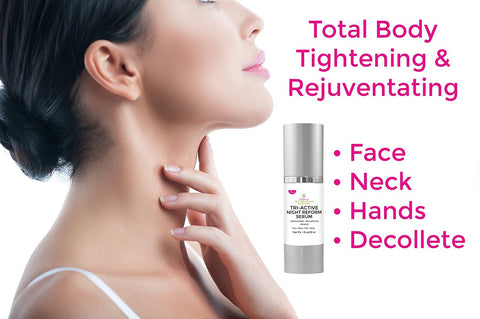 Tri-Active Night Reform Serum Celebrity Hexapeptide Anti-aging Facial Serum