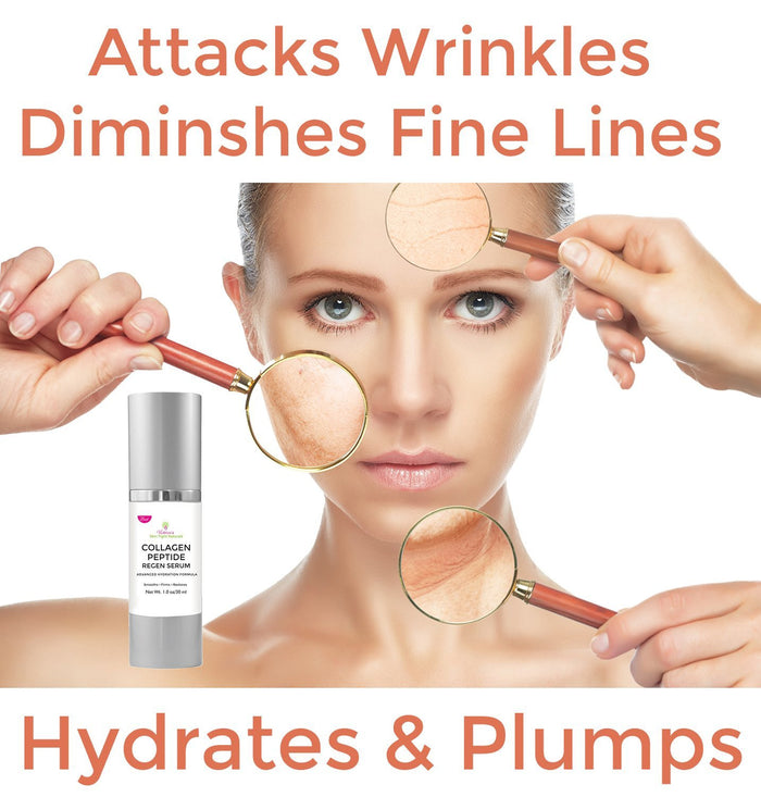 collagen peptide for dull damaged wrinkled  overexposed aging skin