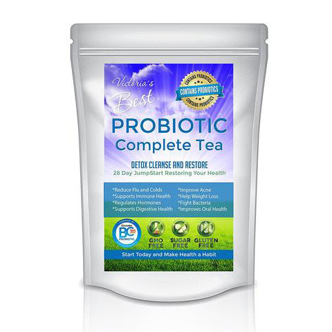Best Probiotic Gut Health Immune System Detox Tea  Weight Loss Detox