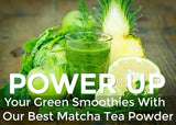 Plant Based Best organic natural Matcha Green Tea Powder Smoothie Fat Burner