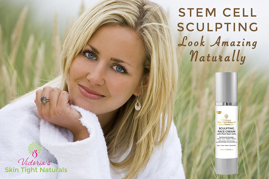 natural stem cell wrinkle crepe skin cream