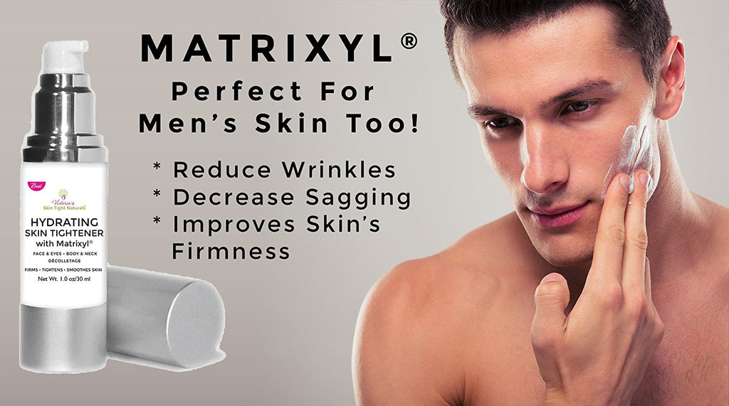 for men wrinkles  crows feet botox alternative  Best Skin Tightening  Firming and Lifting lotion Matrixyl