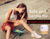 stretch marks and scar cream reduce bruising after injuries and medical treatments
