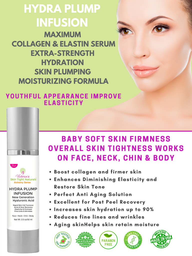 body and face hyaluronic acid serum  retinol wrinkles  fill in fine lines