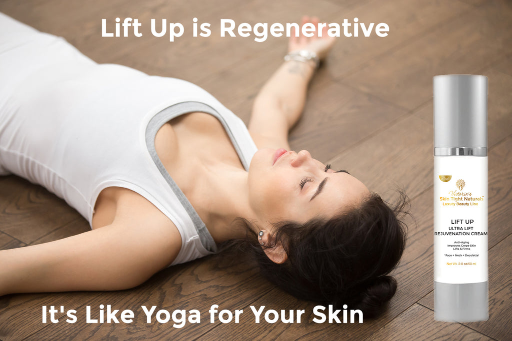 regenerative wrinkle face cream yoga