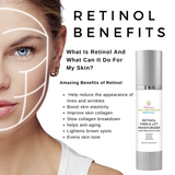 retinol cream wrinkles spots collagen