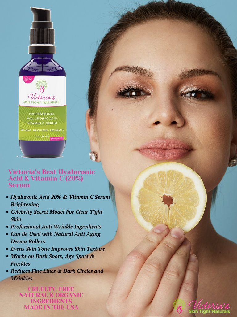 BEST Vitamin C 20% With Citrus Stem Cells Advanced Hyaluronic Acid  Serum