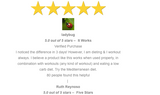5 star review best cellulite cream lose inches thighs butt abs lose weight