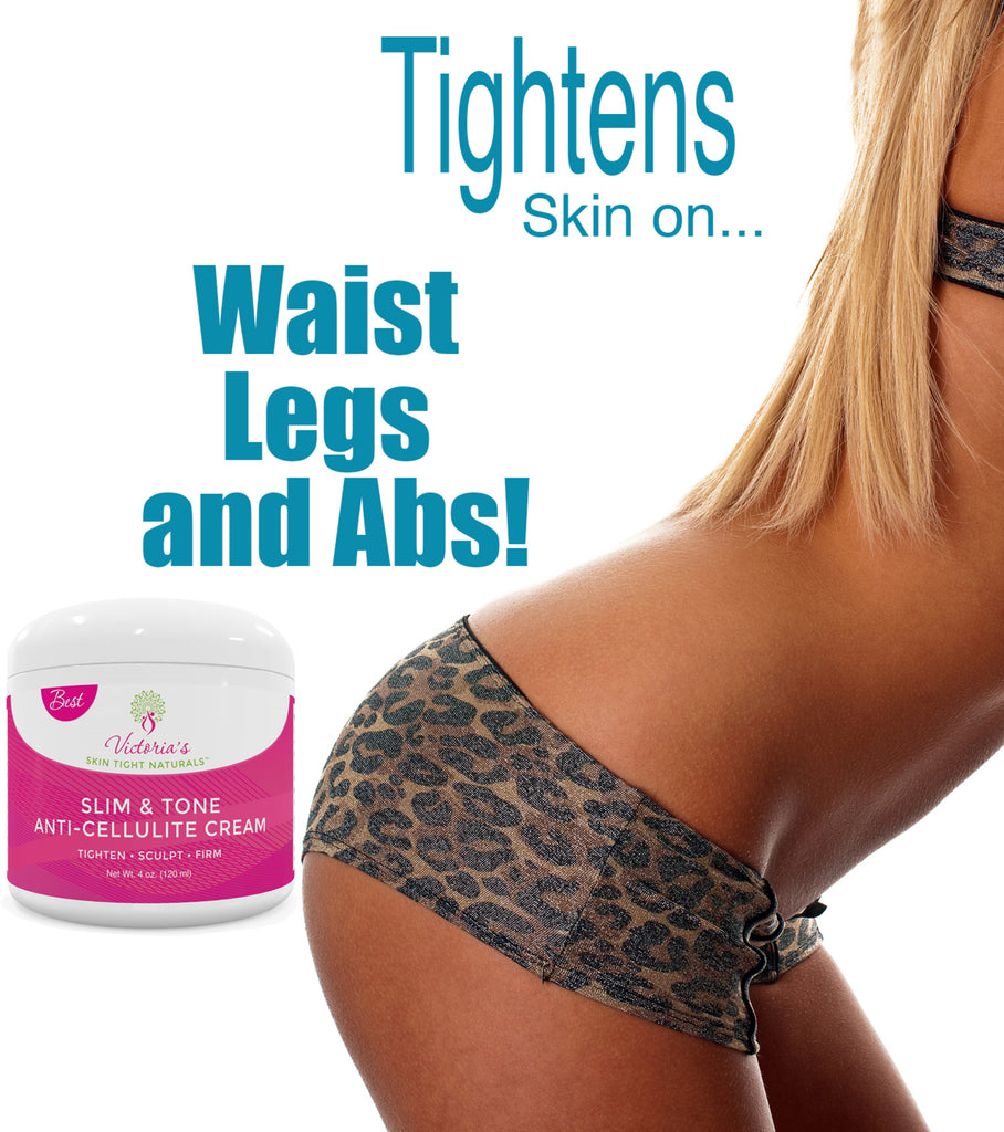 The Best Natural Anti-Cellulite and Detox Cream For Firming, Cleansing and Rejuvenation