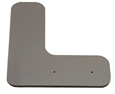 L-Shaped Baseplate for 27 Frames - iQ AdSystems
