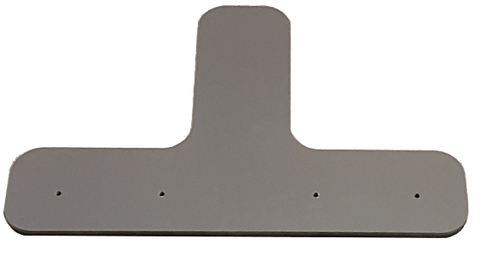 T-Shaped Joiner Baseplate for 27 Frames. - iQ AdSystems