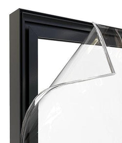 IQ C19 FRAME PVC (Additional transparent PVC inserts) - iQ AdSystems