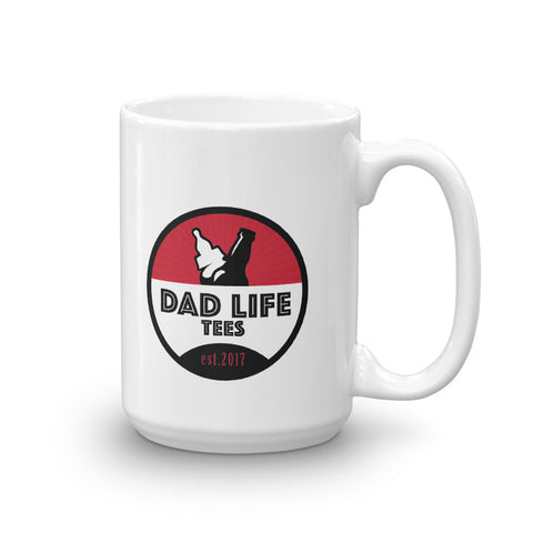 Dad Life Tees Coffee Mug - Red