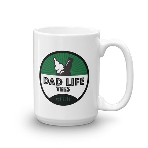 Dad Life Tees Coffee Mug - Green