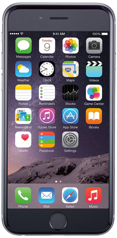 "Apple iPhone 6 16GB Space Gray 4.7"" 4G LTE Factory Unlocked GSM Smartphone"
